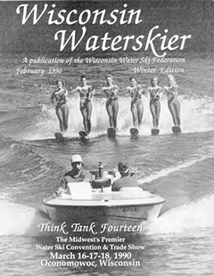 WWSF Wisconsin Water Skier February 1990