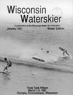 WWSF Wisconsin Water Skier January 1991