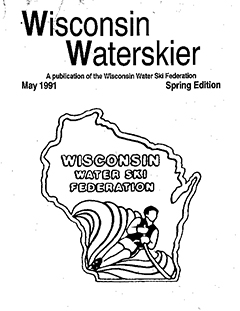 WWSF Wisconsin Water Skier May 1991
