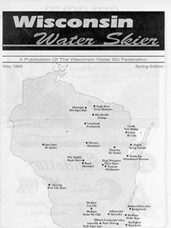 WWSF Wisconsin Water Skier May 1993