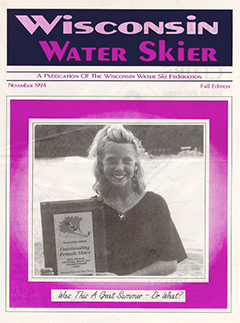 WWSF Wisconsin Water Skier November 1994