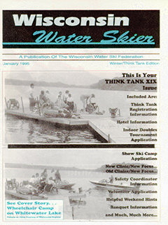 WWSF Wisconsin Water Skier January 1995