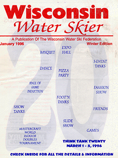 WWSF Wisconsin Water Skier January 1996