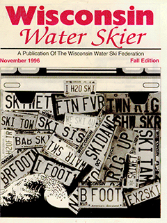 WWSF Wisconsin Water Skier November 1996