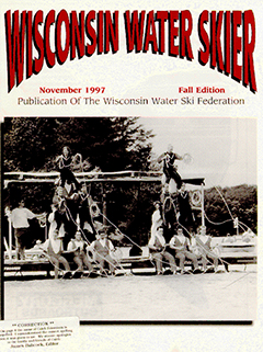 WWSF Wisconsin Water Skier November 1997