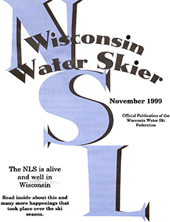 WWSF Wisconsin Water Skier November 1999