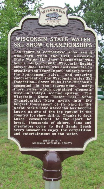 Wisconsin State Water Ski Show Championships Historical Marker